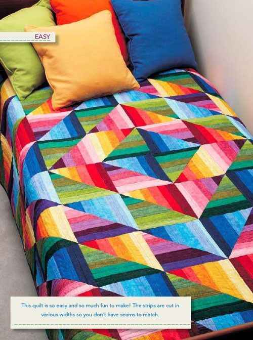 Strata Quilt Pattern - Quilting Digest