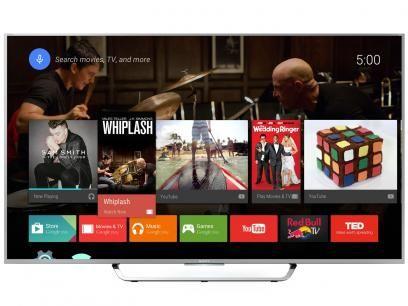 """Smart TV LED 4K Ultra HD 49"""" Sony XBR-49X835C - Conversor Integrado 4 HDMI 3 USB Wi-Fi Android TV com as melhores condições você encontra no Magazine Dsonlima430yahoo. Confira!"""