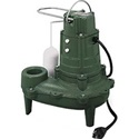 "Zoeller M267 - 1/2 HP Cast Iron Sewage Pump w/ Vertical Float Switch (2""). The M267 is heavy duty from top to bottom. Cast iron construction for the vital parts, such as motor housing, base and volute are essential if you want a pump to last for a long time.     Combine that with stainless steel fasteners and components, and it's clear that Zoeller knows how to build pumps."