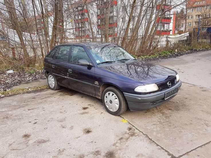 Opel Astra F Scheunenfund 30.000km selten Tüv Renterfahrzeug Sammler Youngtimer