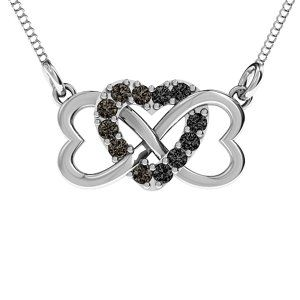 Triple Heart Infinity Pendant #jewlr