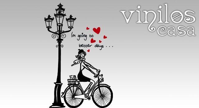 silueta bicicleta mujer - Buscar con Google
