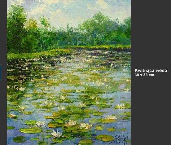 Paweł Łącki - malarstwo