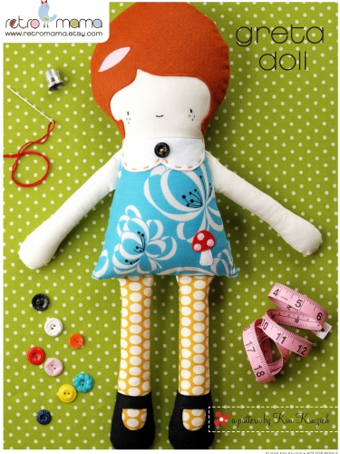 Greta Doll PDF Sewing Pattern | MeylahDolls Pattern, Dolls Pdf, Fabrics Dolls, Pdf Sewing, Girls Dolls, Doll Patterns, Fabric Dolls, Greta Dolls, Sewing Patterns