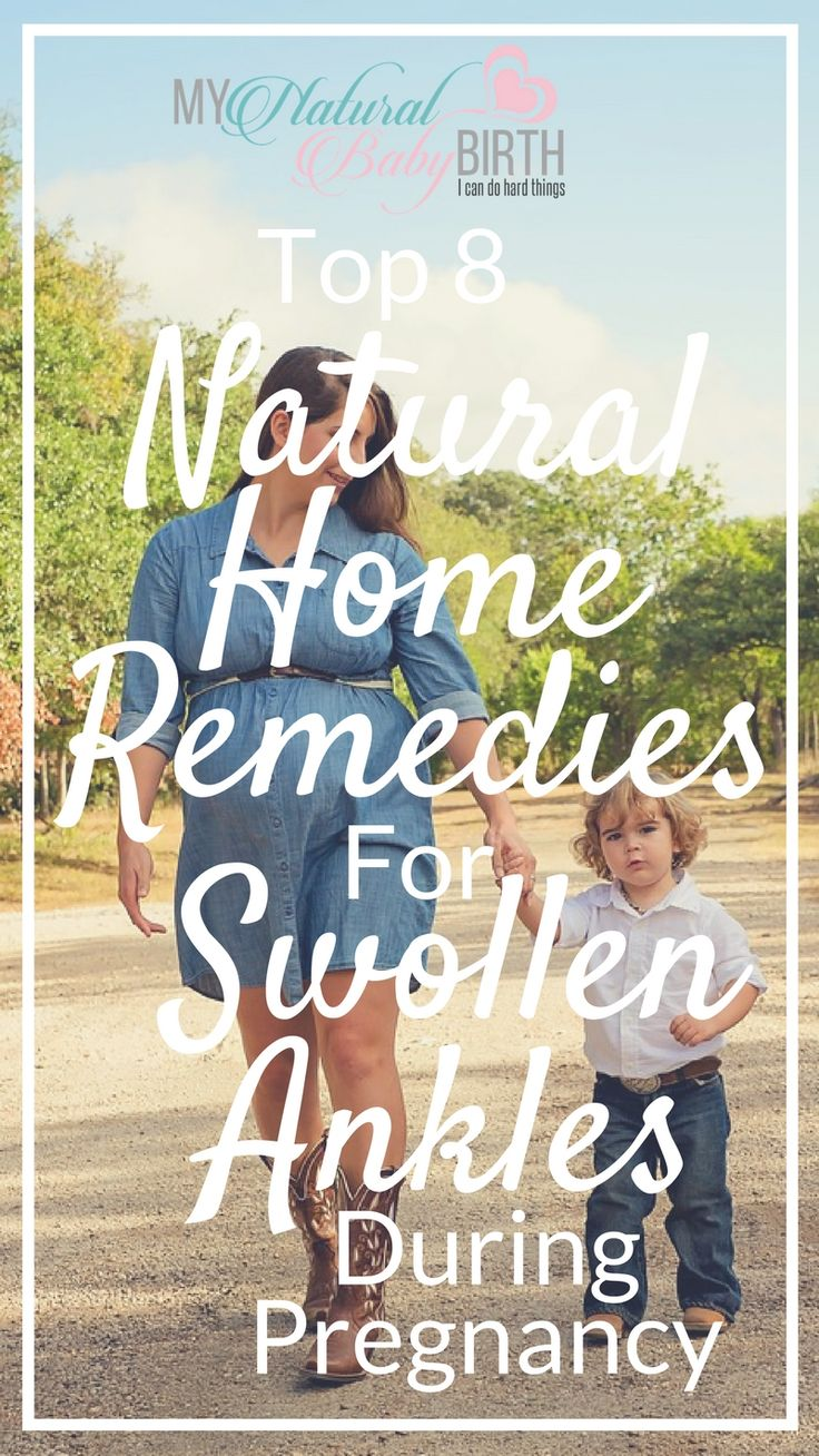 Top Eight Natural Home Remedies For Swollen Ankles During Pregnancy
