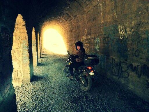 Tunel cajon del maipo, Chile Euromot jm150