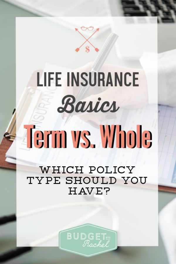 Term Life Vs Whole Life Insurance Simplified With Images Life