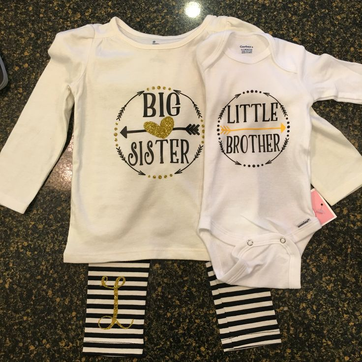 Big sister little brother outfits