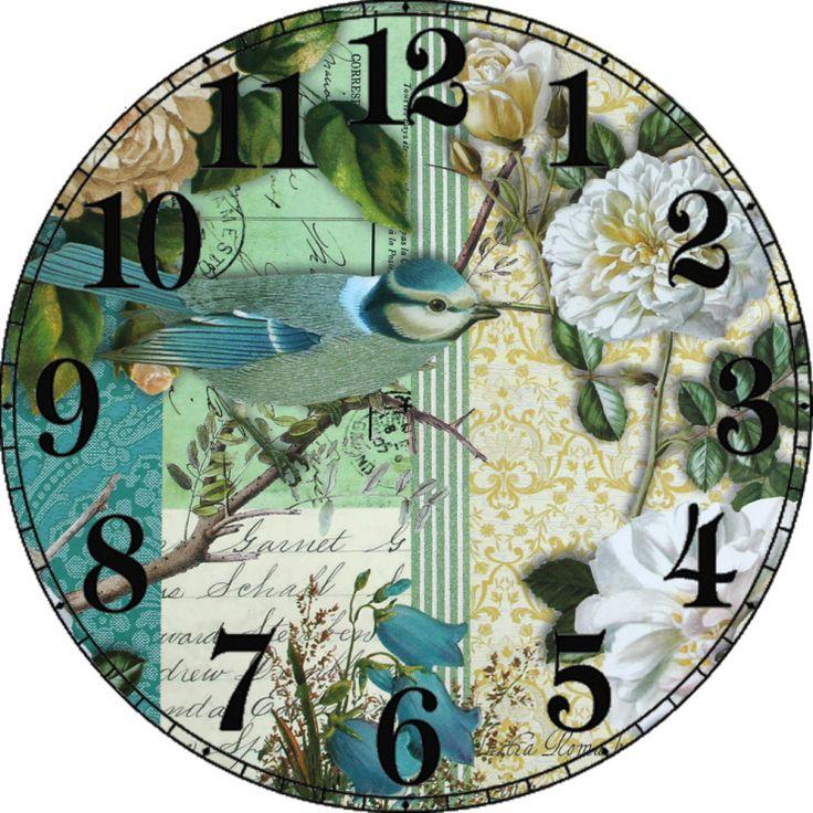 Gallery.ru / Фото #100 - Циферблаты для декупажа часов. - lada45dec
