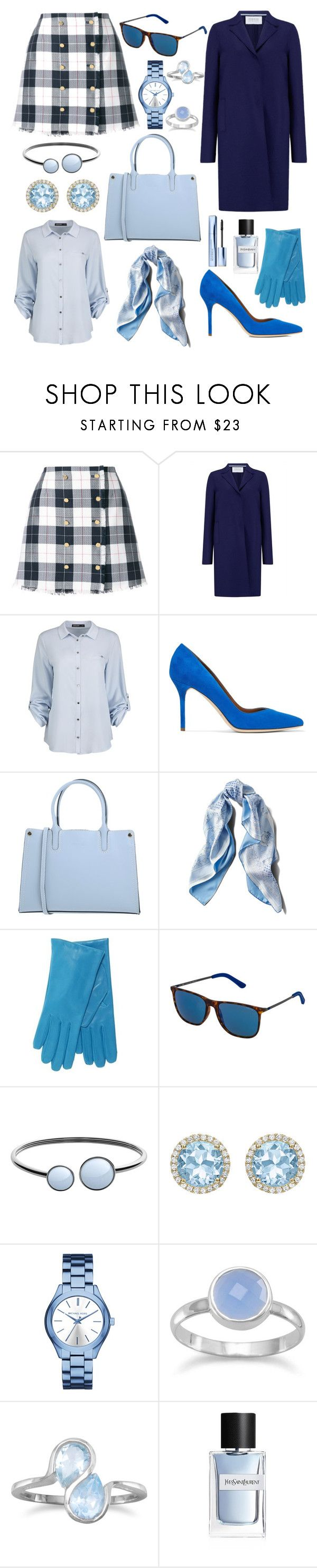 """""""Untitled #110"""" by doctorlia ❤ liked on Polyvore featuring Thom Browne, Harris Wharf London, Malone Souliers, Manoukian, Asprey, POLICE, Skagen, Kiki mcdonough, MICHAEL Michael Kors and BillyTheTree"""
