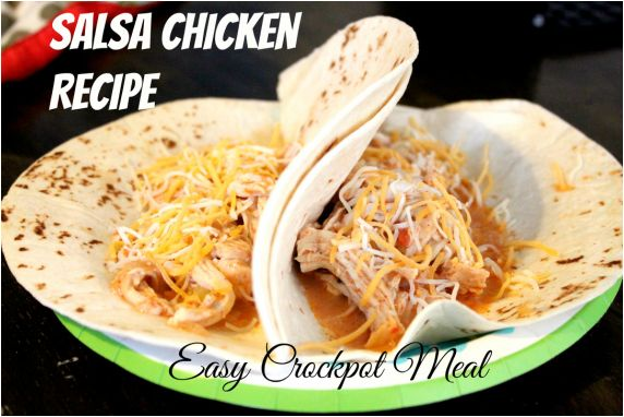Salsa chicken recipe easy crockpot meals warm weather food yummy ...