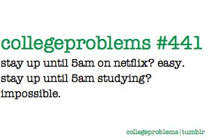this happens to me ALL the time.  deff not good for test, haa :).