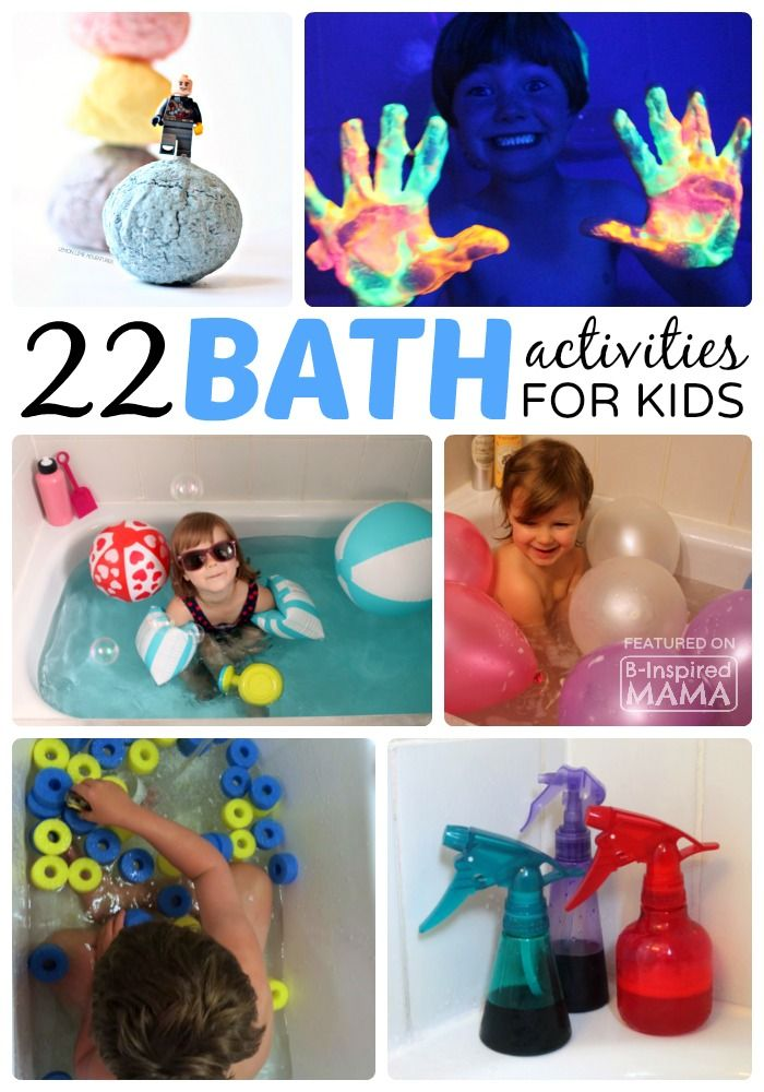 22 Kids Activities to Make Bath Time Fun!