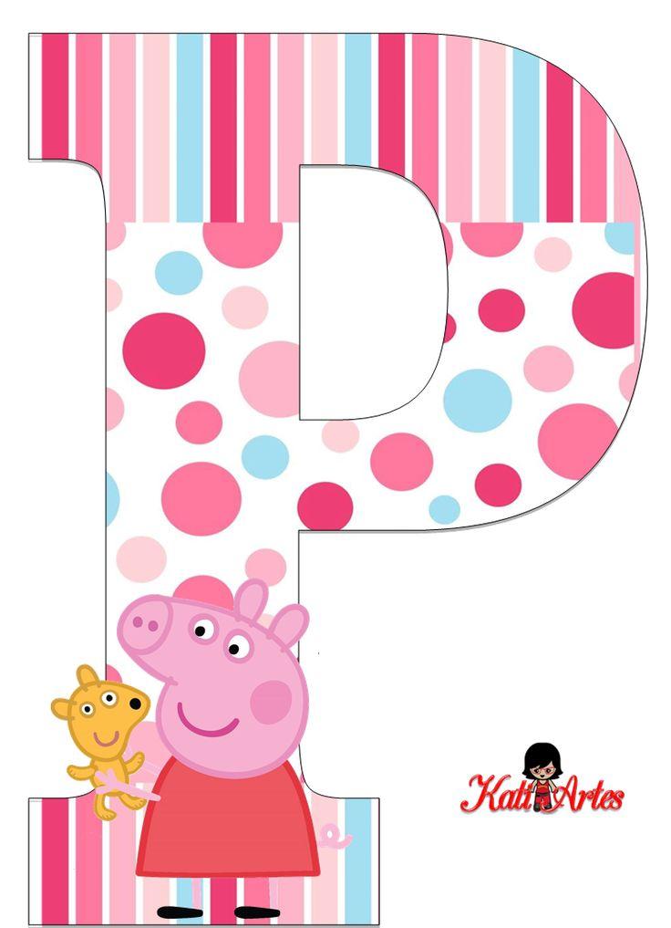 Per la sua festa di compleanno: template da stampare e da tagliare! TUTTI PAZZI PER PEPPA! (•◡•) Tante altre idee cool per le mamme sul sito ❤ mammabanana.com ❤