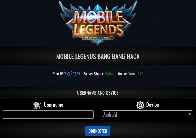 Mobile Legends Diamonds Hack Generator 2 Mobile Legends Episode