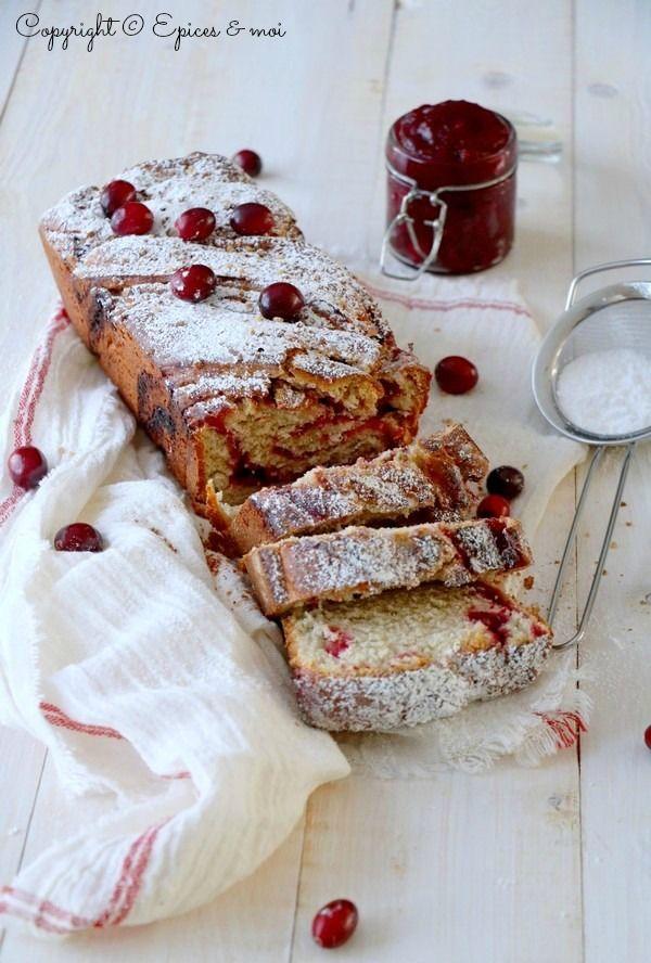 Pain tressé aux cranberries et au sucre d'érable #végétalien { Epices & moi