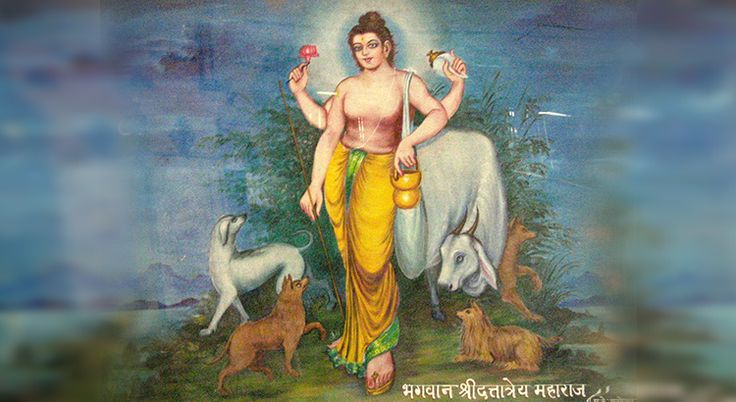 Shree Datta is a Hindu deity considered to be an avatar of Hindu god Shree Krishna; Names of Shri Datta & their meanings explained   #DandvatPranam #JaiShreeKrishna #NamoPanchAvatar #Mahanubhava  http://dandvat.com/shree-datta-is-a-hindu-deity-considered-to-be-an-avatar-of-hindu-god-shree-krishna/