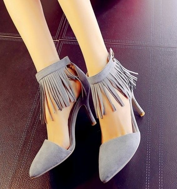 women real genuine leather stiletto pointed toe party high heel sandals