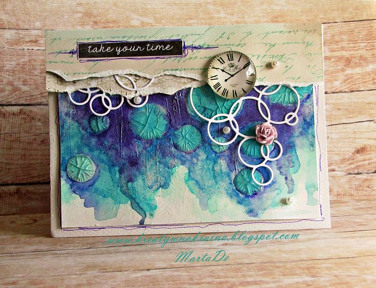 Mixed-media Card lift for Scrap-Lifting