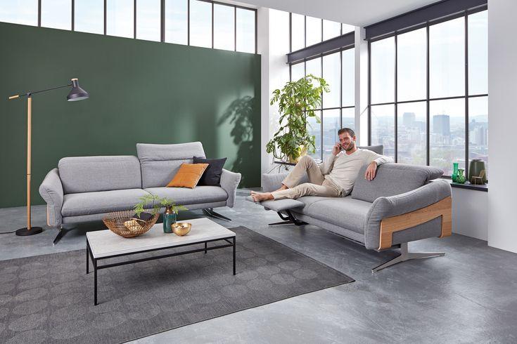 A Decouvrir Dans Le Showroom Des Meubles Wansart Ce Superbe Salon Qui Allie Design Moderne Qualite Superieure Fabrication Allemande Cuir Longlife G