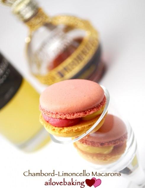 "macaroons - chambord and limoncello - For ""Limoncello ..."