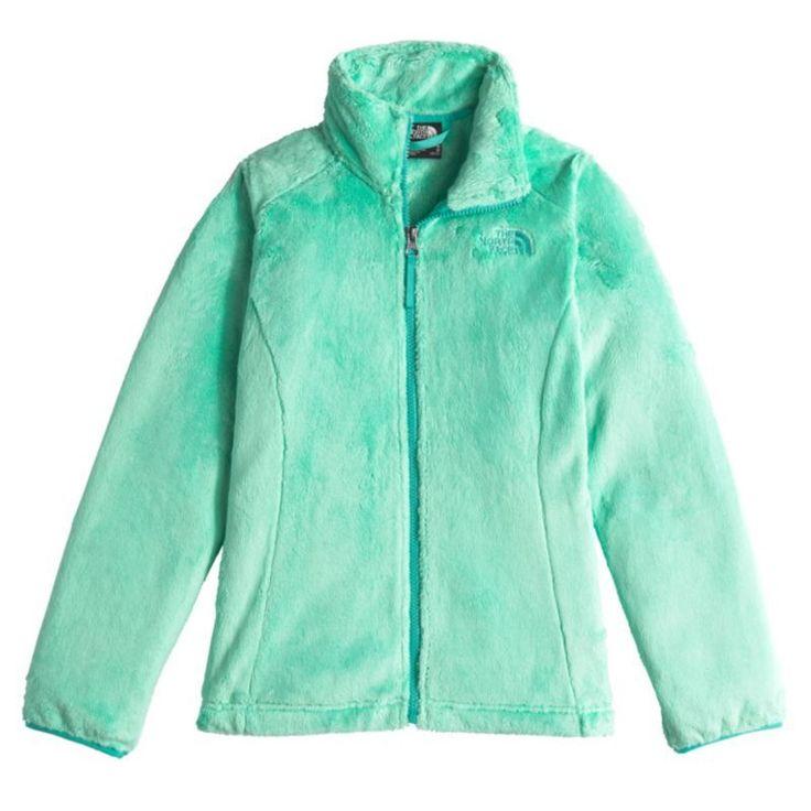 The North Face Girls' Osolita Fleece Jacket, Size: Medium, Green