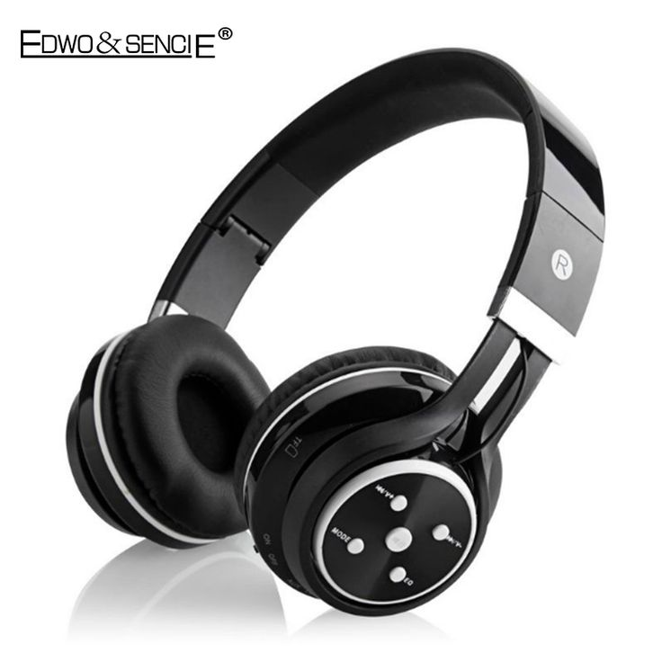 EDWO 203A Portable Wireless Bluetooth Headphone With Mic Bass Stereo Music Headset FM Radio Noise Cancelling For iPhone Samsung //Price: $US $36.80 & FREE Shipping //     #samsung