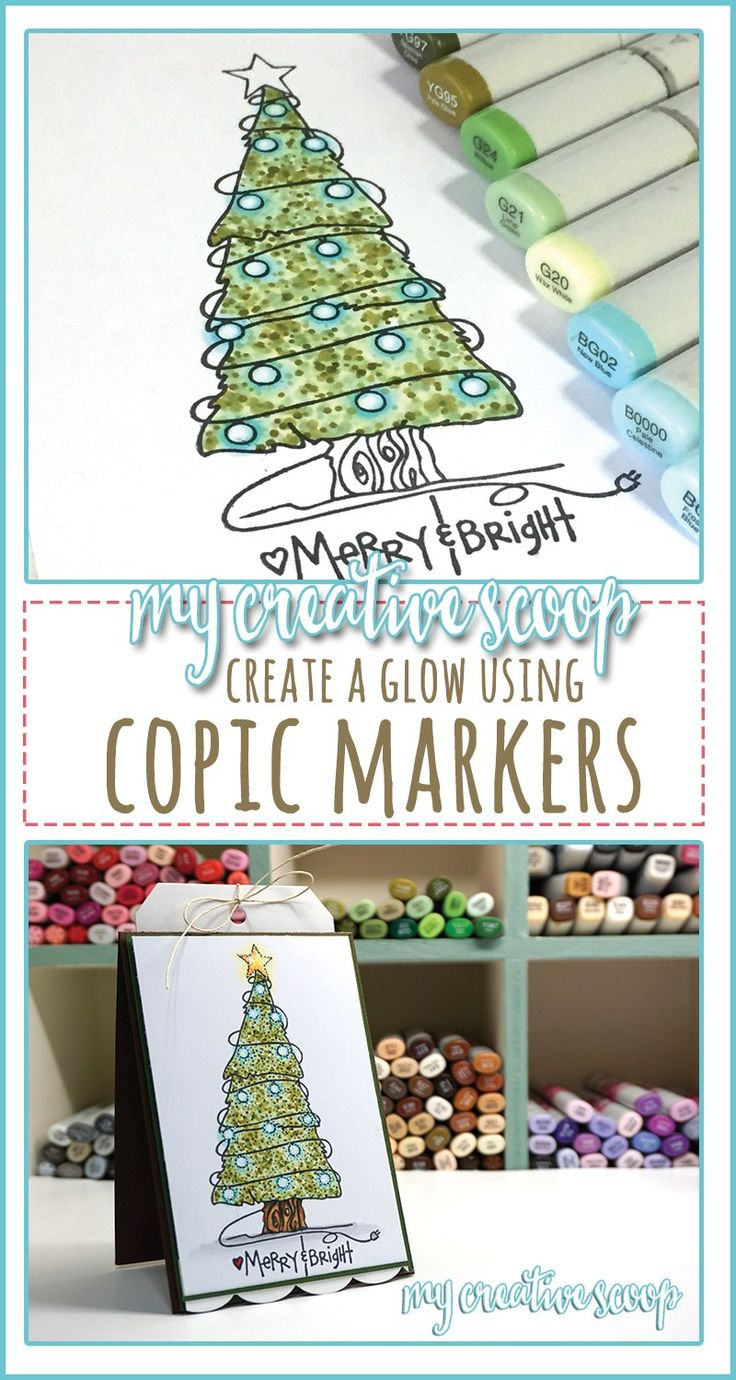 creating-a-glow-using-copic-markers-pinterest