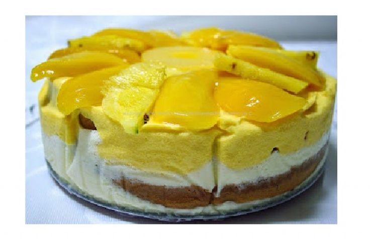 bolo gelado de manga e ananas_httpdicasfemininas-su.blogspot