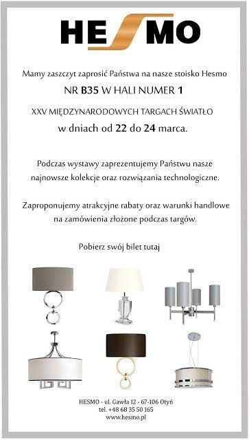 Profesjonalne oświetlenie: XXV Międzynarodowe Targi Światła w Warszawie - Sto...