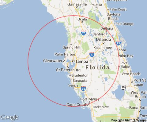 Tampa Florida Day Trips And One Tank Trips 100 miles Or Less