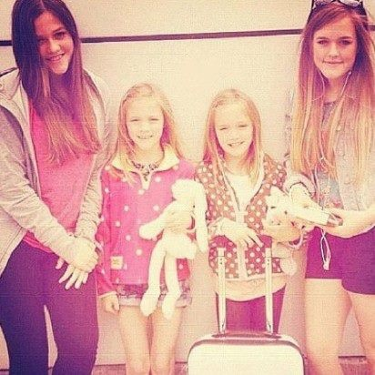 I always forget there are four of them. All the buzz about Lottie and the twins, never anything about Fizzy.