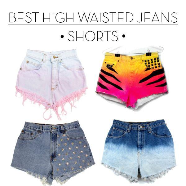 High Waisted Shorts | love | Pinterest | Shorts med hög midja ...