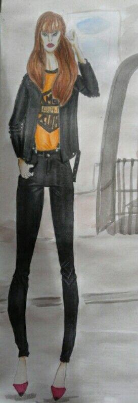 Mes illustrations de mode