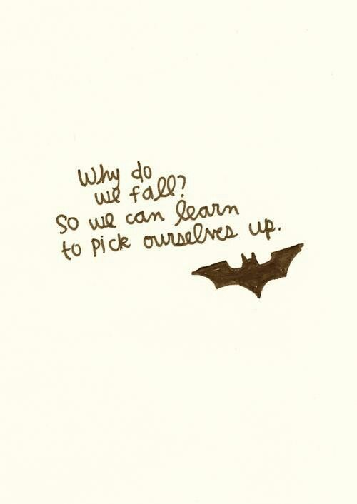 A Batman quote.