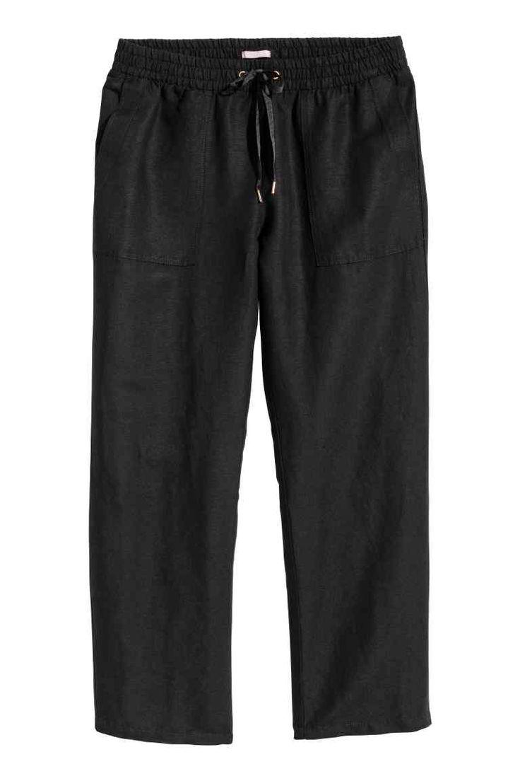 H&M+ Pantalon en lin mélangé - 30€