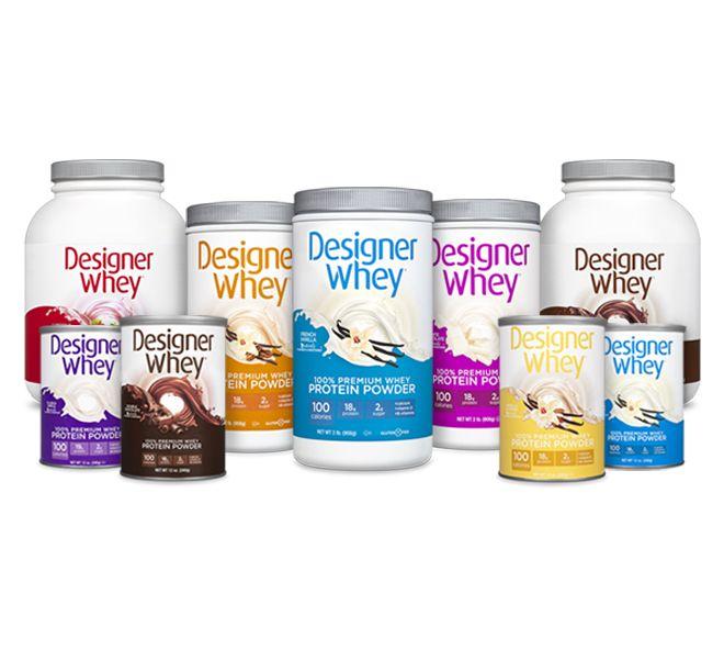 Designer Whey Powders