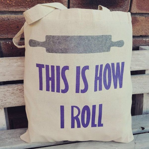 Rolling Pin Tote Bags