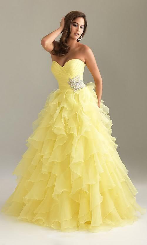 Plesové šaty | Plesové šaty - Miriam žluté , modré , červené | PrincessDress