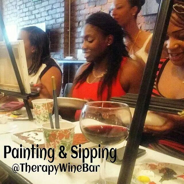 Painting & Sipping