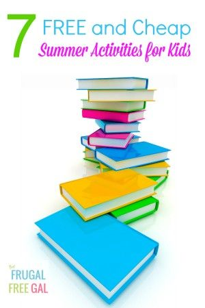 7 FREE and Cheap Summer Activities for Kids