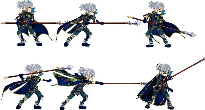 【作品】アルカディアスの戦姫、【武器】槍、【キャラ】カロウス