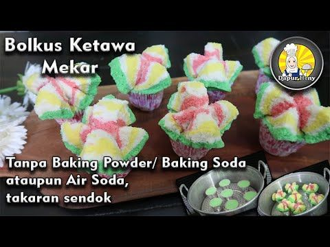 Bolu Kukus Mekar Tanpa Baking Powder Baking Soda Air Soda Youtube Memanggang Kue Soda Kue Soda