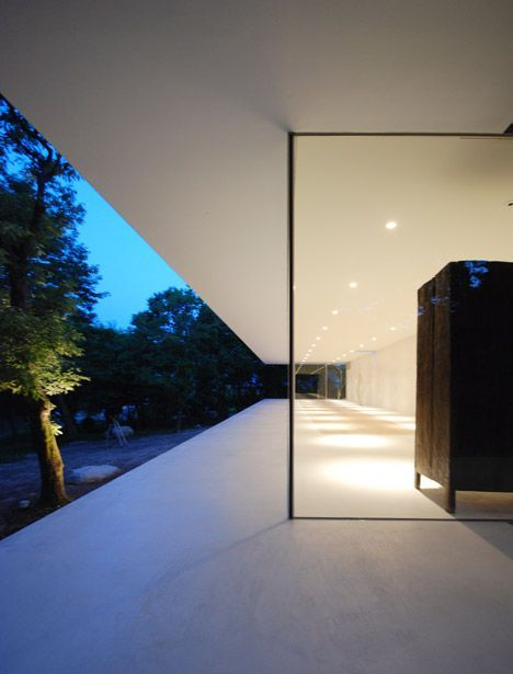 Glass-fronted gallery and house for a florist by Shinichi Ogawa   Architecture   Pinterest   Architecture, Architecture design and Design