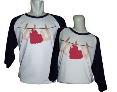Kaos Couple Raglan : Hanging Love - Jual kaos couple, kaos custom, kaos anak, kaos dewasa, kaos souvenir ulang tahun, kaos event, dll SMS / WA : 087880741923, PIN BB : 228CCF29