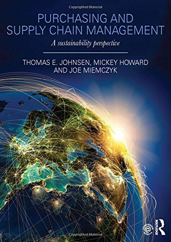 Purchasing and supply chain management : a sustainability perspective | 141.22 JOH