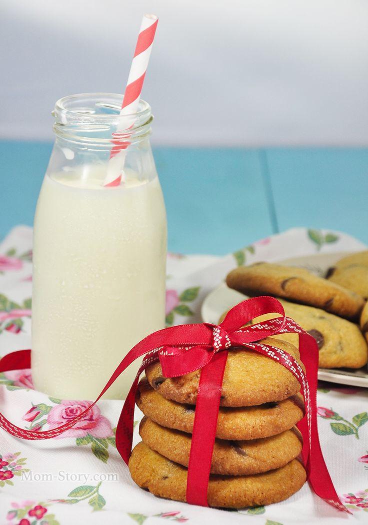 Американское печенье с шоколадом рецепт с фото
