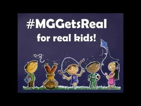 Book trailer for #MGGetsReal campaign