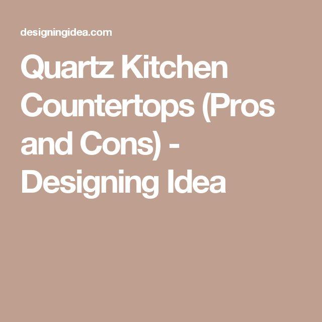 1000 Ideas About Quartz Kitchen Countertops On Pinterest Quartz Countertops Kitchen
