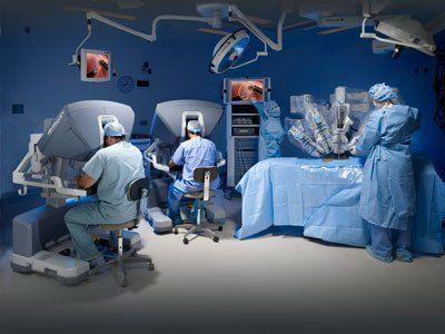 The da Vinci Surgical System